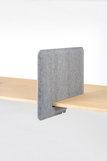 AK 1 PET Felt Workplace Divider by De Vorm | Table dividers
