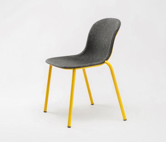 LJ 2 PET Felt Stack Chair by De Vorm | Chairs