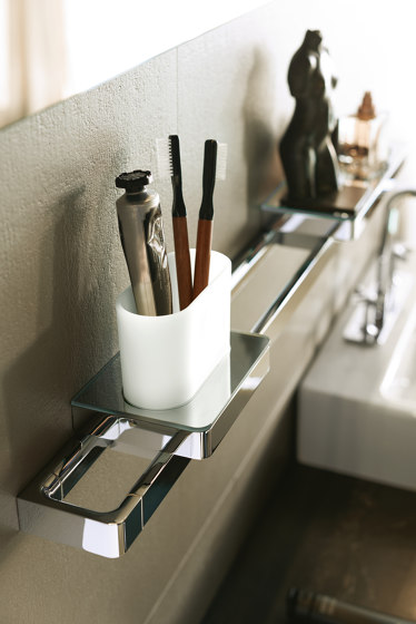 AXOR Universal Accessories Toothbrush Tumbler by AXOR   Toothbrush holders