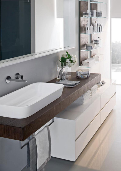 Nyù 8 by Ideagroup | Bath shelving