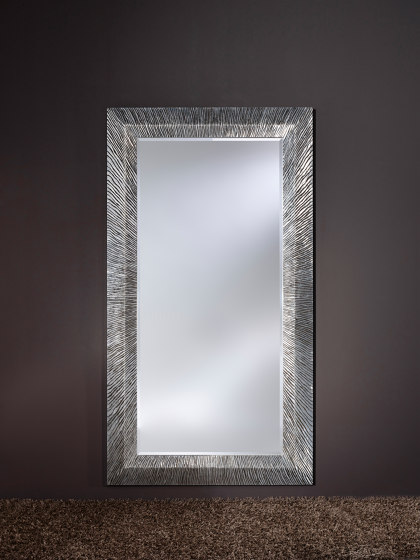 Groove Silver by Deknudt Mirrors | Mirrors