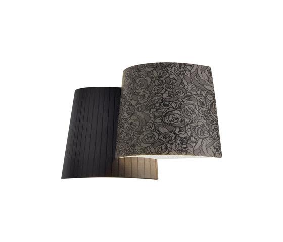 Melting Pot AP dark patterns by Axolight   Wall lights