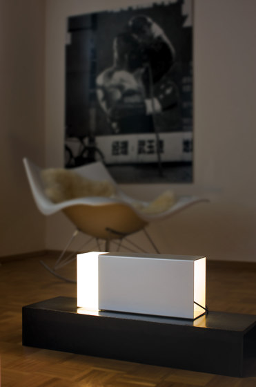 Eraser 380 Silver by Moree | Table lights