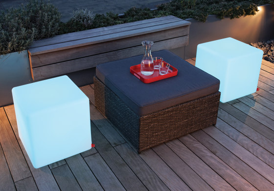 Cube LED Outdoor Accu by Moree | Side tables
