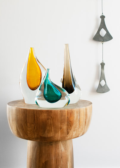 Droplet Vessel Collection Set Of 3 by SkLO   Objects