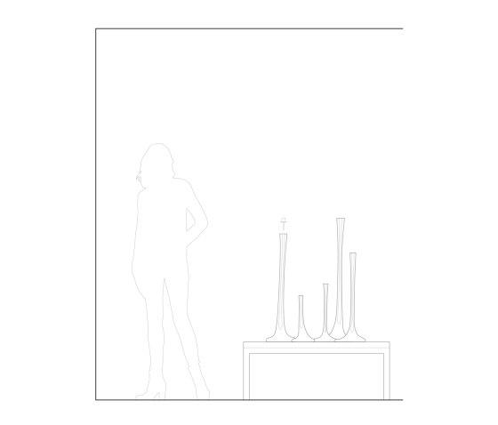 Puddle Vessel Candlestick de SkLO | Bougeoirs