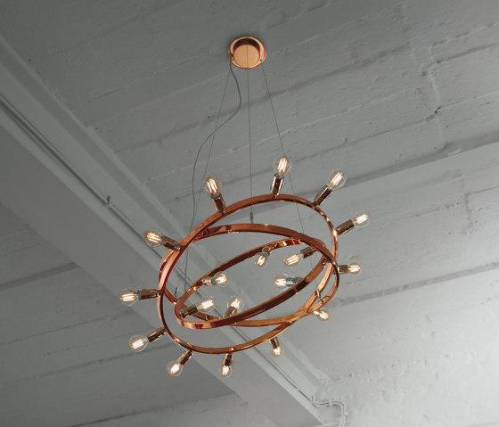Dione 550 di Licht im Raum | Lampade sospensione
