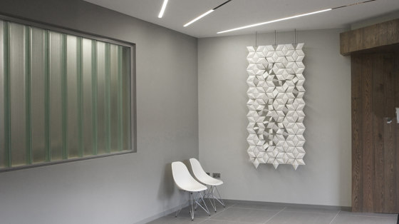 Facet Hanging Room Divider - 102x230cm by Bloomming | Folding screens