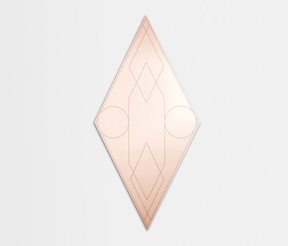 Mask | Rhombus by Petite Friture | Mirrors