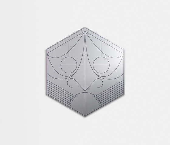 Mask | Hexagon by Petite Friture | Mirrors