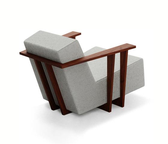 F2 Armchair di Neil David | Poltrone