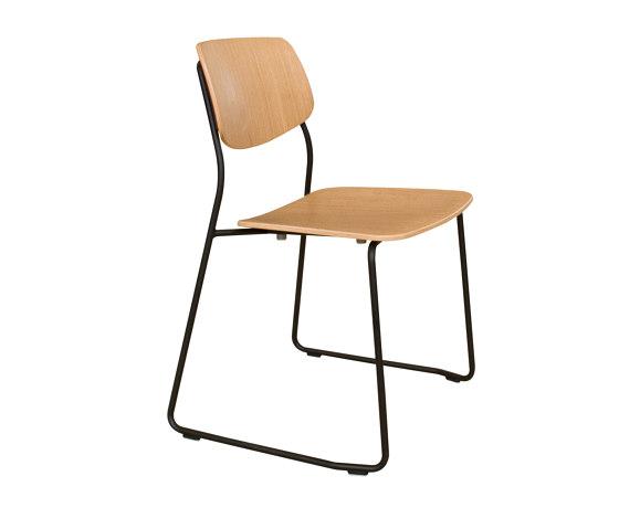 Felber C14 Metal Sled by Dietiker   Chairs