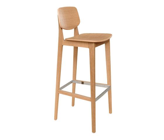 Felber C14 Wood Barstool by Dietiker | Bar stools