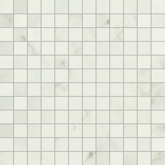 Prestigio Carrara Lucido Mosaico by Refin | Ceramic tiles