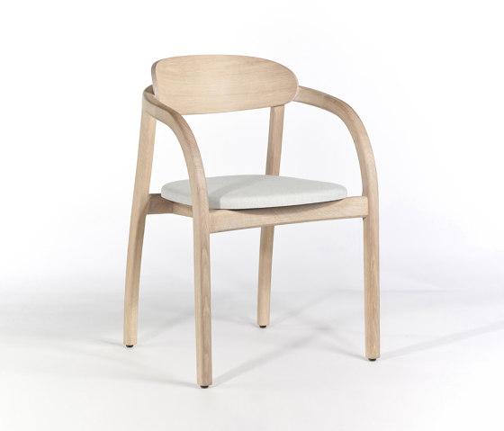 Arch Armchair - Oak Natural by Wildspirit | Chairs