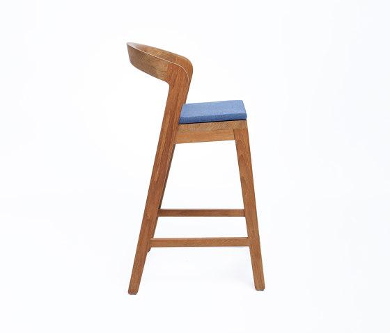 Play Barstool - Teak by Wildspirit | Counter stools