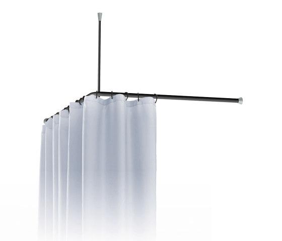 FSB ErgoSystem® A100 Shower curtain rail by FSB   Shower trays