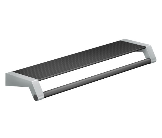 FSB ErgoSystem® A100 Utensils tray with grab/towel rail by FSB | Grab rails