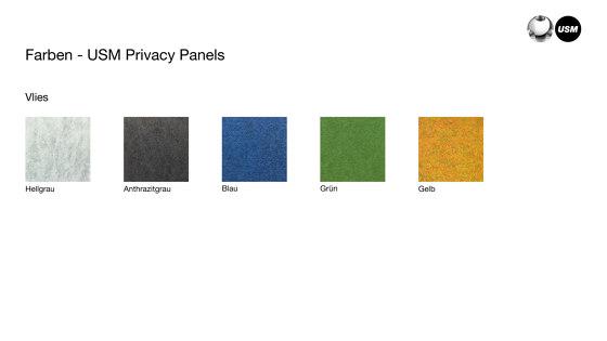 USM Privacy Panels | Light Gray de USM | Accesorios de mesa