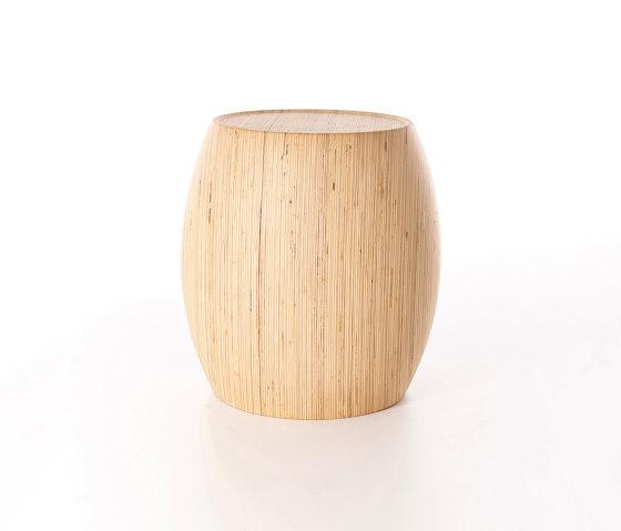 Motley Drum 40 - Plywood Birch di Wildspirit | Pouf