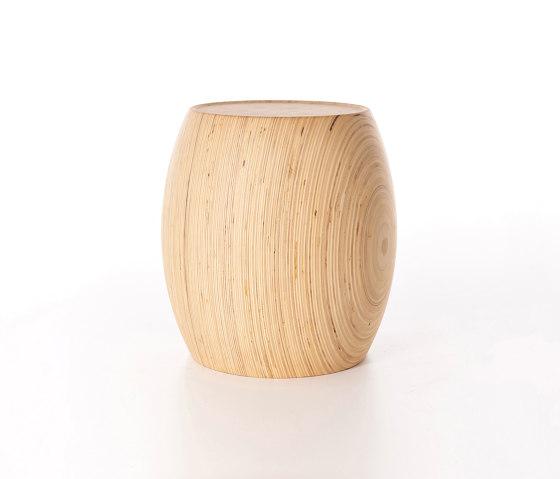 Motley Drum 40 - Plywood Birch by Wildspirit | Poufs