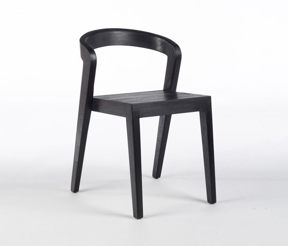 Play Chair - Teak Black Coated by Wildspirit | Chairs
