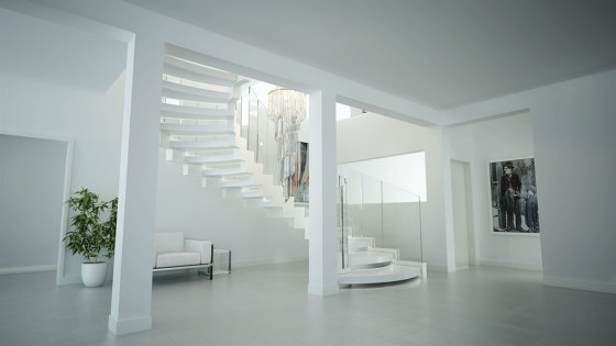 Cobra Corian by Siller Treppen | Staircase systems