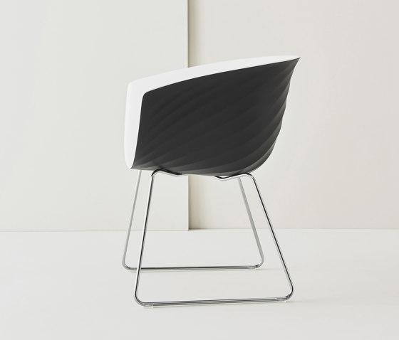 Derby | Sled base von Segis | Stühle