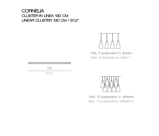 CORNELIA SO by Contardi Lighting | Suspended lights