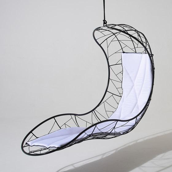 Recliner Hanging Chair Swing Seat - Twig Pattern by Studio Stirling | Swings