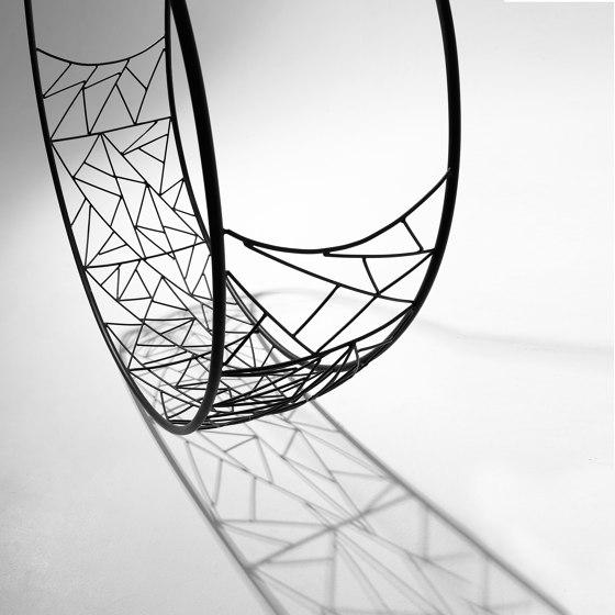 Wheel Hanging Swing Chair - Twig by Studio Stirling | Swings