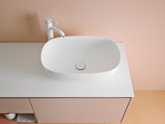 Ovalo Corian® Top Mounted washbasin by Inbani | Wash basins