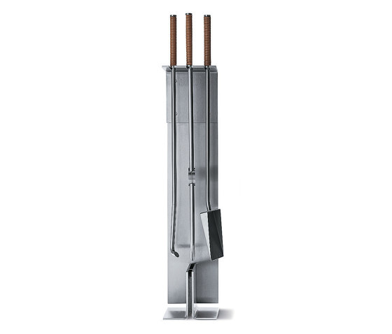Peter Maly Stand tool set by conmoto | Fireplace accessories