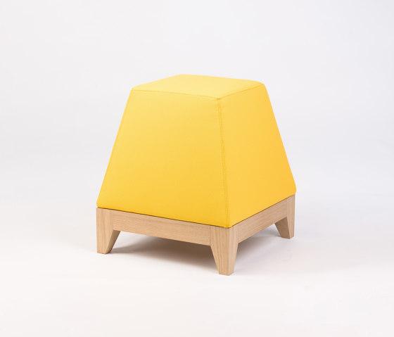 Oblique OB2 pouf by Bogaerts Label   Poufs