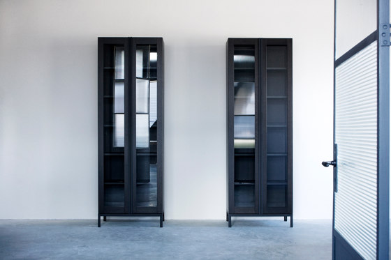 Greep cabinet glass doors de Van Rossum | Vitrines