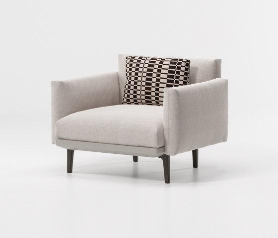 Boma club armchair di KETTAL | Poltrone