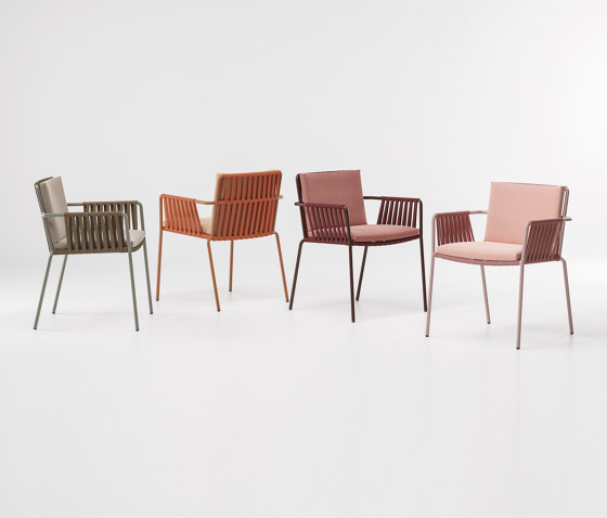 Net dining armchair by KETTAL | Chairs