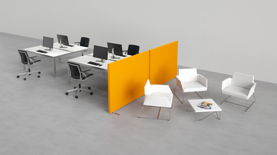 D-Space by Caruso Acoustic by Lamm | Privacy screen