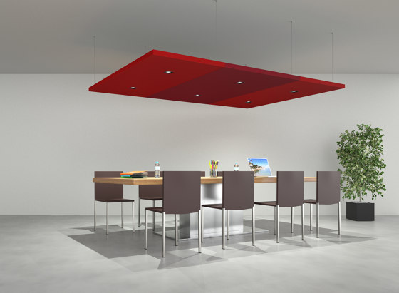 Nuvola by Caruso Acoustic by Lamm | Ceiling panels