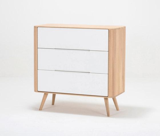 Ena drawer one | 90x42x90 by Gazzda | Sideboards