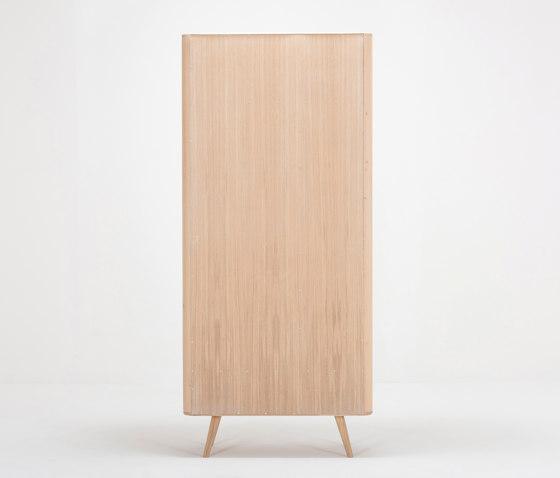 Ena hallway wardrobe | 90x35x200 by Gazzda | Cloakroom cabinets