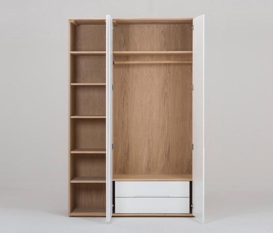 Ena modular wardrobe by Gazzda | Cabinets