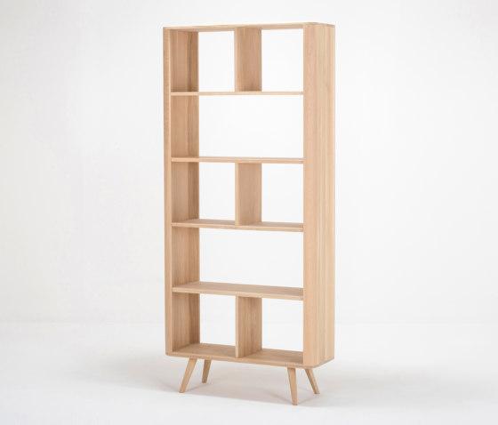 Ena room divider | 90x35x200 by Gazzda | Shelving