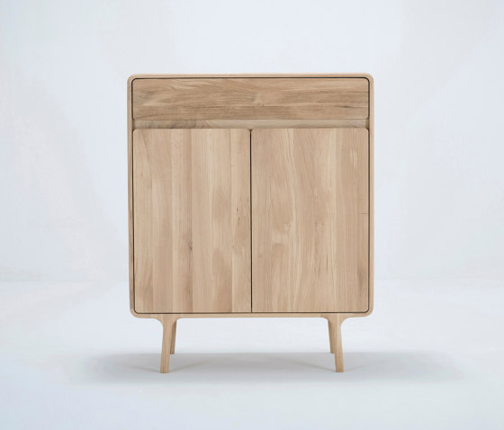 Fawn cabinet | 90x45x110 by Gazzda | Sideboards
