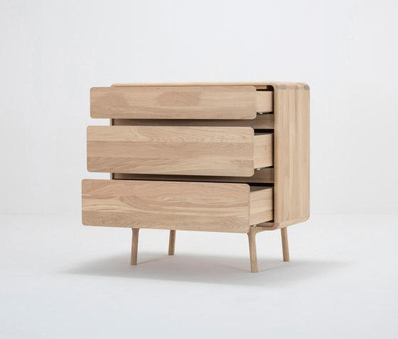 Fawn drawer | 90x45x90 von Gazzda | Sideboards / Kommoden