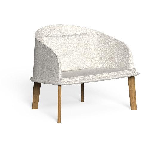 Cleo Teak | Lounge Armchair de Talenti | Fauteuils