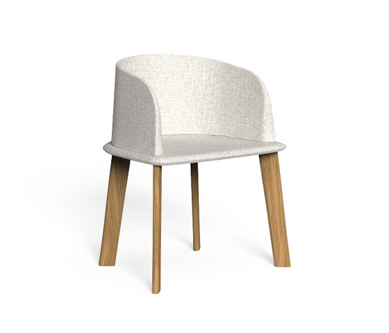 Cleo Teak | Padded Tub Chair de Talenti | Chaises