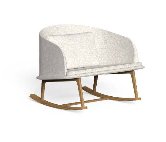 Cleo Teak | Rocking Chair by Talenti | Armchairs