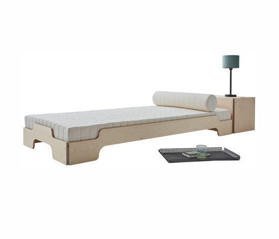 Stacking bed classic maple by Müller small living | Beds