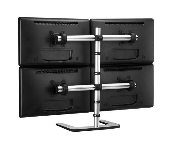 Set & Forget | Freestanding Four Display Mount VFS-Q by Atdec | Table equipment
